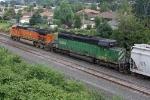 BNSF 6841 on CSX Q381-03
