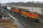 BNSF 4353 on CSX Q380-31