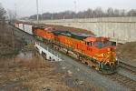 BNSF 5481 on CSX Q380-03