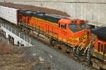 BNSF 7721 on CSX Q380-03