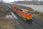 BNSF 5750 on CSX N886-06