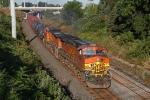 BNSF 4363 on CSX Q380-25