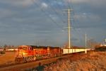 BNSF 9990 on CSX E941-18