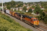 BNSF 7671 on CSX Q380-31
