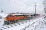BNSF 6134 on CSX Q149-27
