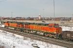 BNSF 4525 on CSX Q381-01