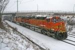 BNSF 5258 on CSX Q380-06