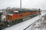 BNSF 5323 on CSX Q380-06