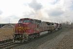 BNSF 903 on CSX Q380-25