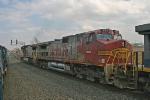 BNSF 605 on CSX Q380-25