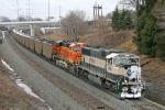 BNSF 9656 on CSX N886-26