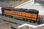 BNSF 332 on CSX Q380-27
