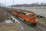 BNSF 6045 onCSX V828-08