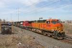 BNSF 4403 on CSX Q380-08