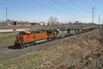 BNSF 5436 on CSX Q641-15