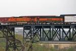 BNSF 5282 on CSX Q380-30