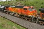 BNSF 4307 on CSX Q380-06