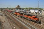 BNSF 7140 on CSX Q380-12