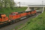 BNSF 4613 on CSX Q380-14