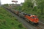 BNSF 5958 on CSX E940-13