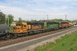 BNSF 6898 on CSX Q380-15