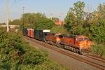 BNSF 5675 on CSX Q263-19