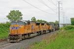 UP 4822 on CSX Q351-27