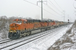 BNSF 6151 on CSX E958-09