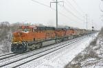 BNSF 6151 on CSX E958-09