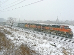 BNSF 1014 on CSX Q380-11
