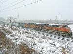 BNSF 1014 on CSX Q380-11