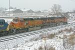 BNSF 4963 on CSX Q380-11
