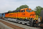 BNSF 7408 on CSX Q381-26