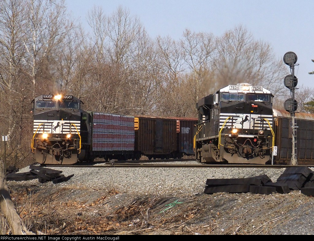 NS 35A and 213 Side by Side