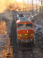 NS HA90 with a BNSF GP60M