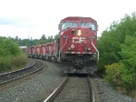 CP 9139 IN KENORA AUGUST 9, 2001 I AM NOT STANDING ON THE TRACKS IT JUST APPEARS THAT WAY