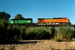 BNSF 5486 and BN 8044