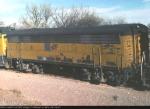 CNW BU32 on eb bentonite train e of town