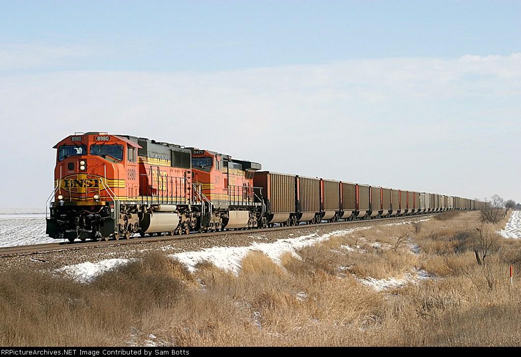 BNSF 8980