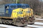 CSXT 440 & 133