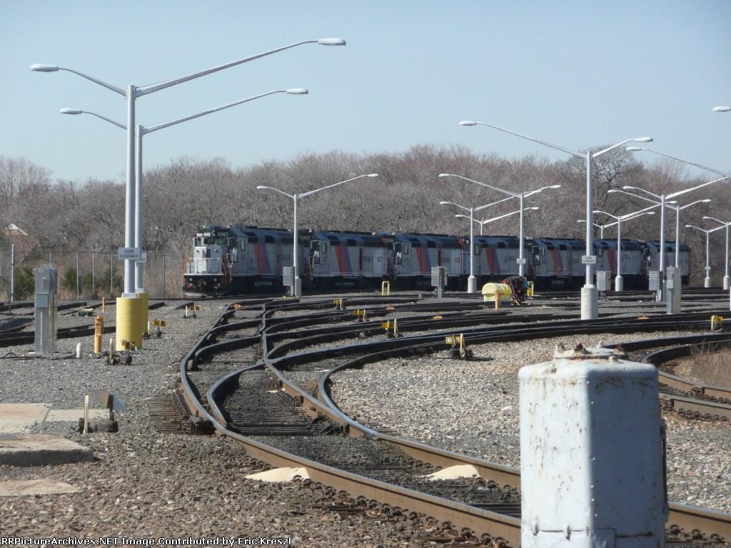 NJ Transit Parts Locomotives