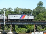 NJT 4123 NJT 4204 Train X233 on the Navesink River
