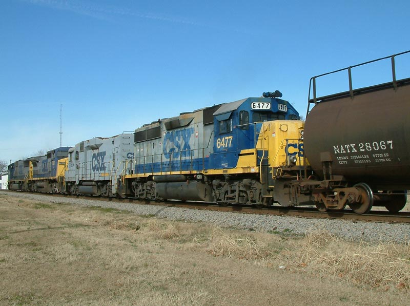 Power on Train Q401