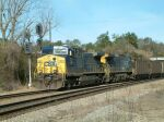 CSX Coal Train arrives