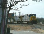 CSX Train Q401 arrives