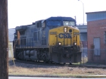 CSX 244 gets stopped by the Inspector