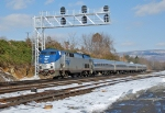 Amtrak at Mifflin Signal Bridge