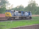 CSX 4573 & 7307 head away with Q159