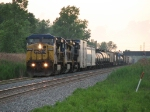 Detouring away from the Villa Grove Sub due to flooding, X645-13 heads east on the B&O