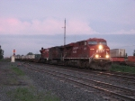 CP 8734 leads 25T west